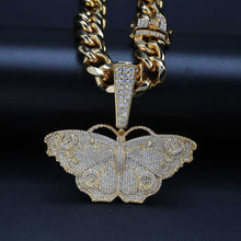 Load image into Gallery viewer, Iced Out Butterfly