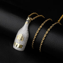 Load image into Gallery viewer, Iced Out Champagne Bottle