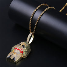 Load image into Gallery viewer, Joker Supervillain Pendant