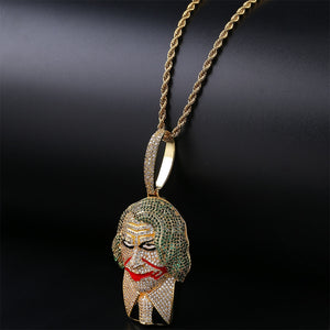 Joker Supervillain Pendant