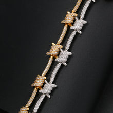 Load image into Gallery viewer, Iced Out Twisted Bracelet
