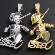 Load image into Gallery viewer, Iced Out Pinocchio