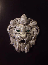 Load image into Gallery viewer, Iced Out Lion Head