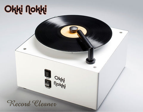 Okki Nokki - RCM -Record Cleaning Machine - White