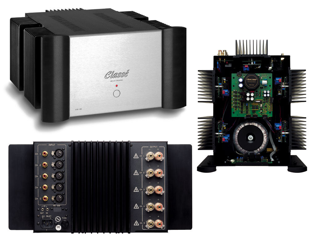 Classe CAV 180 Five Channel Amplifier (Demo Unit)