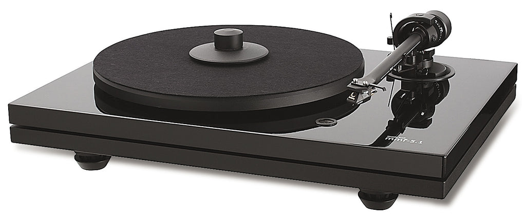 Music Hall MMF-5.1 - BELT DRIVE Turntable (Black)