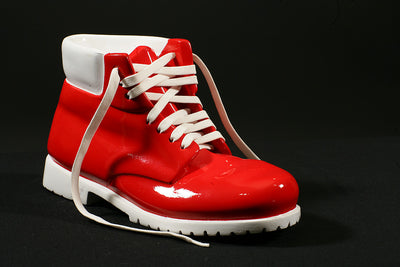 WORK BOOT / REPRODUCTION RED AND WHITE