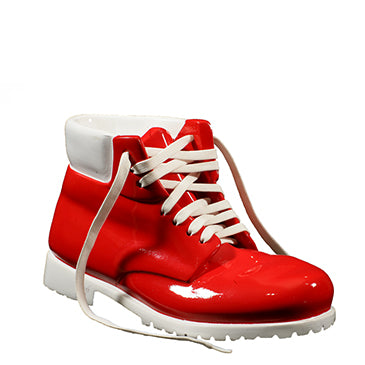 Work Boot/reproduction / red and white