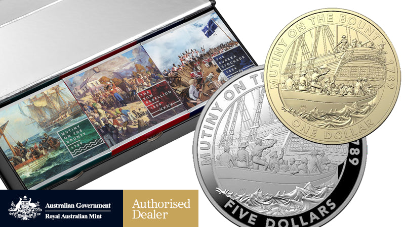 MUTINY AND REBELLION Exciting New Release From The Royal Australian Mint
