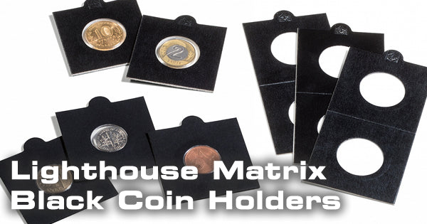 Lighthouse MATRIX Black Coin Holders