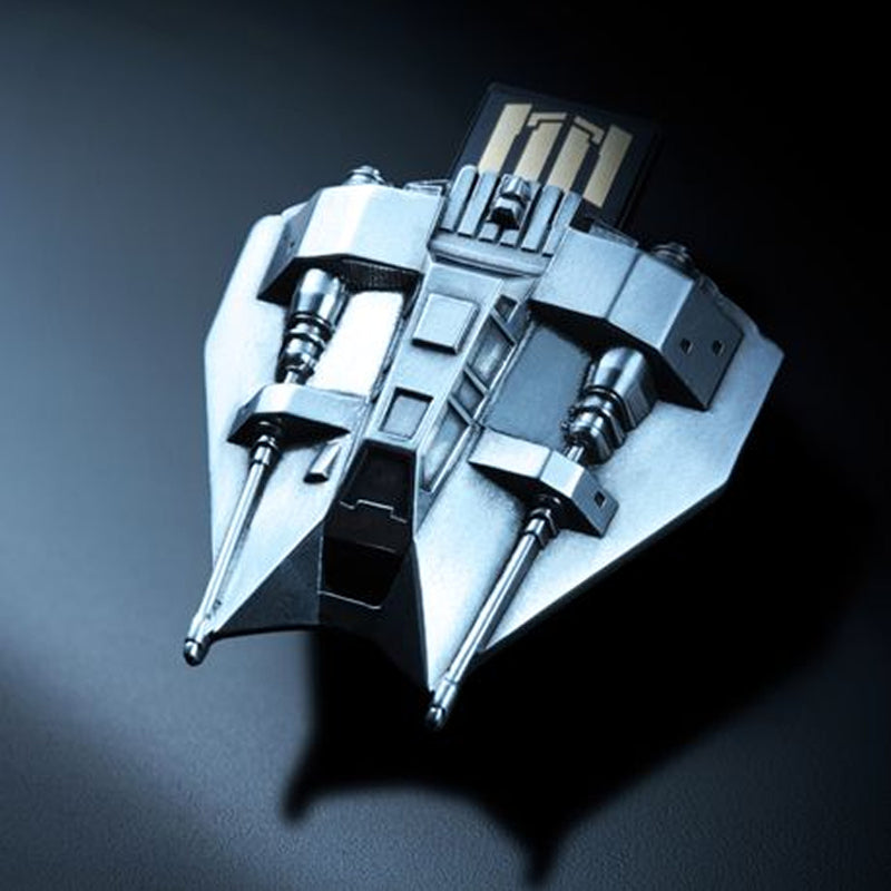 Star Wars Pewter Flash Drive - Snowspeeder (16GB) - Officially Licensed by Royal Selangor