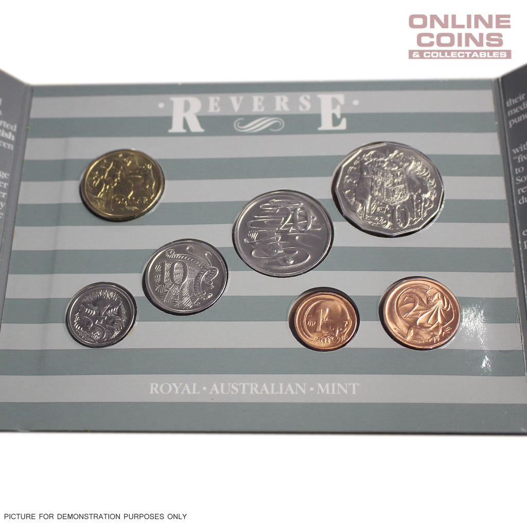 1987 Royal Australian Mint Uncirculated 7 Coin Year Set - Great! - RARE COINS!!