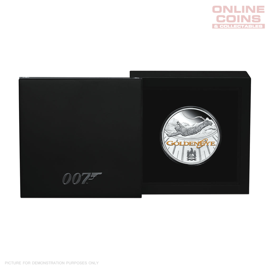 Perth Mint James Bond GoldenEye 25th Anniversary 2020 1oz Silver Proof Coin