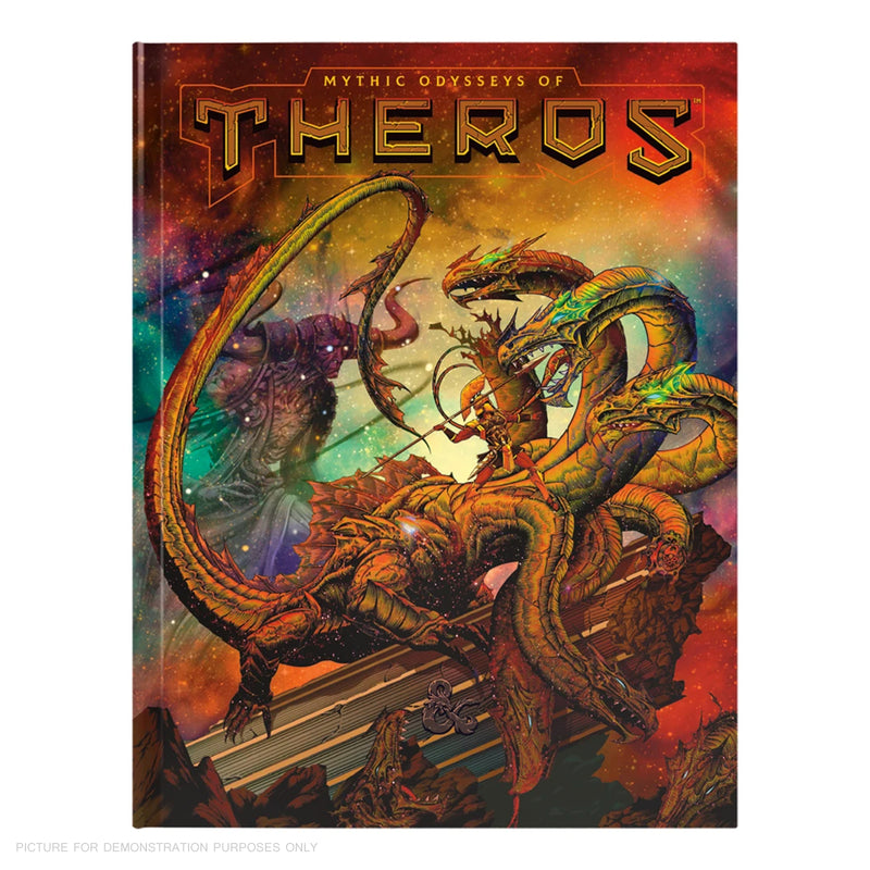 Dungeons and Dragons - Mythic Odysseys of Theros - ALTERNATE HARD COVER BOOK