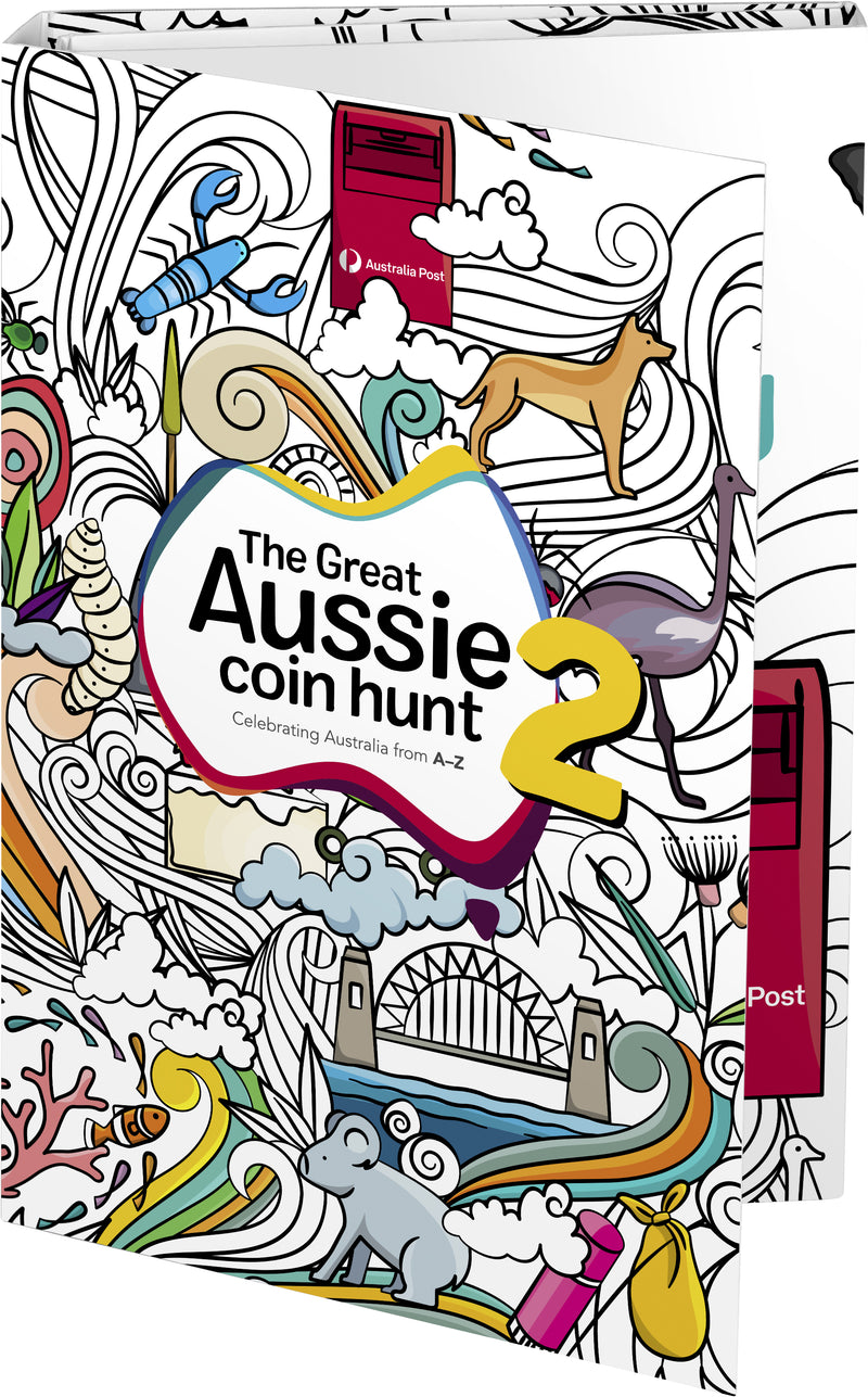 The Great Aussie Coin Hunt 2 - 2021 Empty Collectable Folder