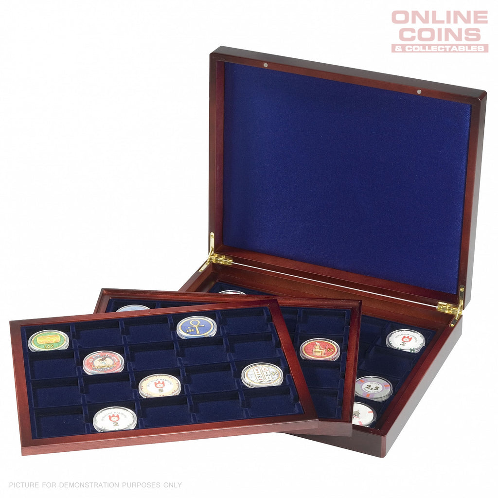 Lighthouse Volterra Trio deLuxe Presentation Case 3 Trays 60 x 48mm Compartments
