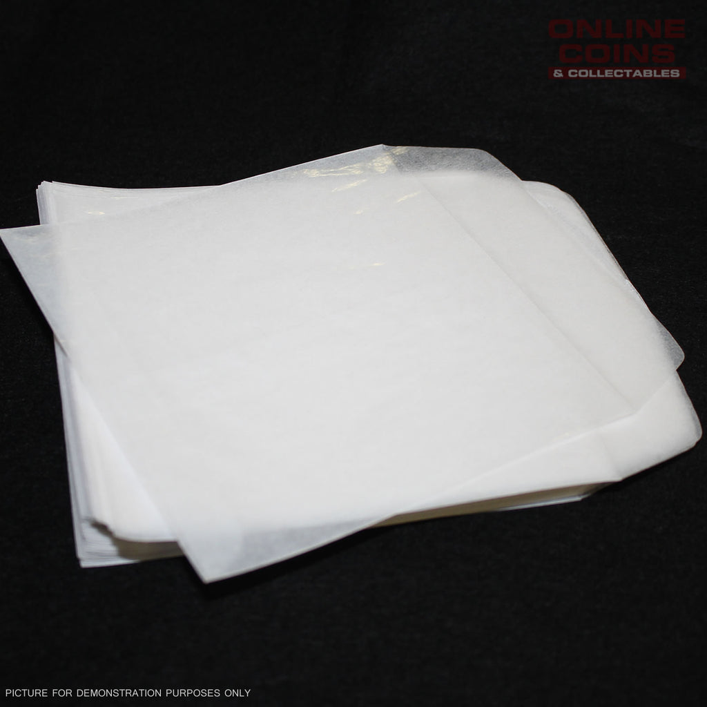 Cenveo - Glassine Envelopes 5STK29 - Acid Free - 14cm x 14cm - Bundle of 100