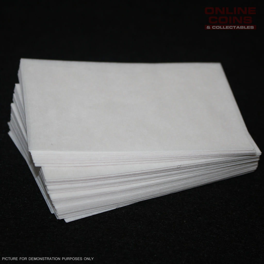 Westvaco - Glassine Envelopes 5STK33 - Acid Free 6.0cm x 9.2cm - Bundle of 100