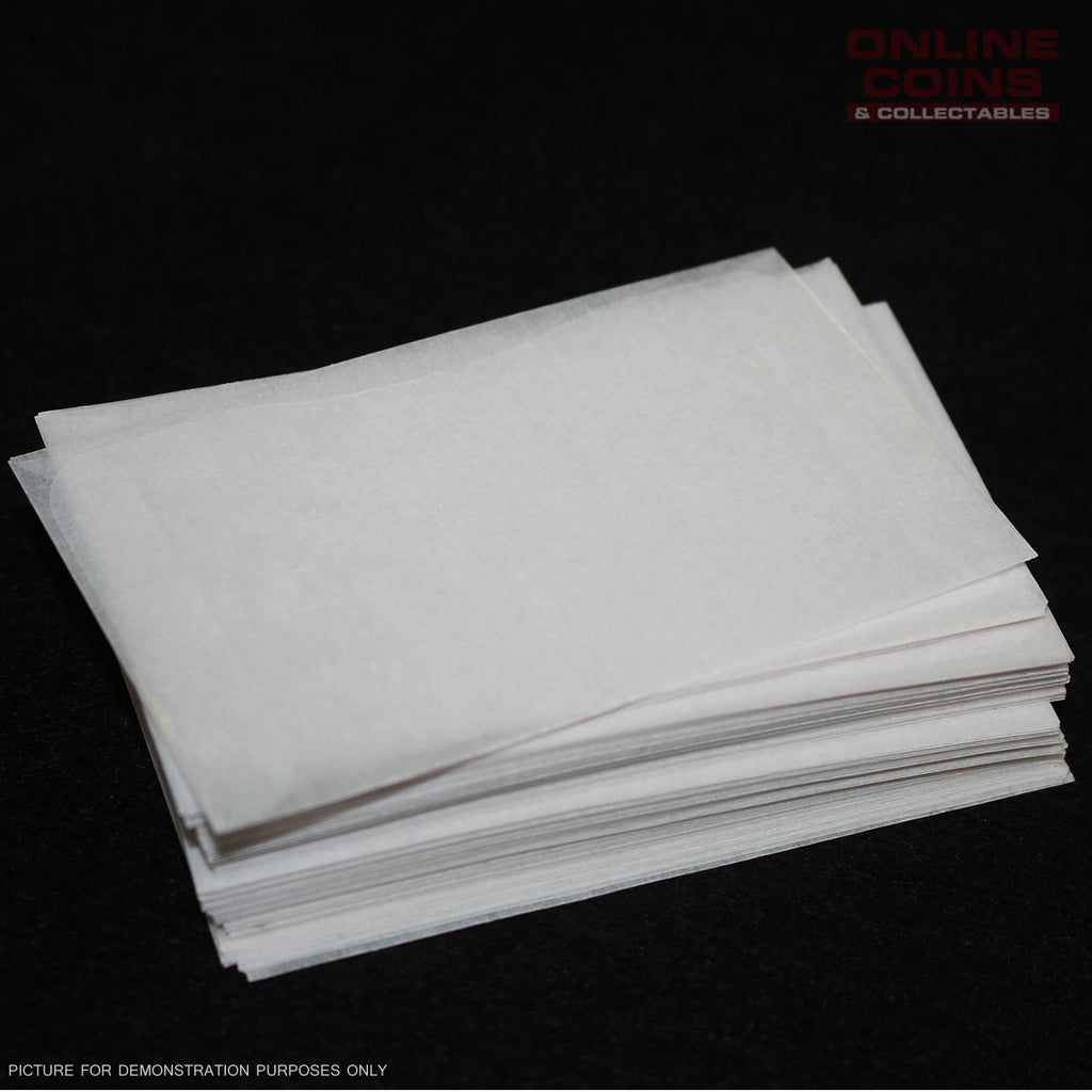 Cenveo - Glassine Envelopes 5STK35 - Acid Free - 6.4cm x 10.cm - Bundle of 100