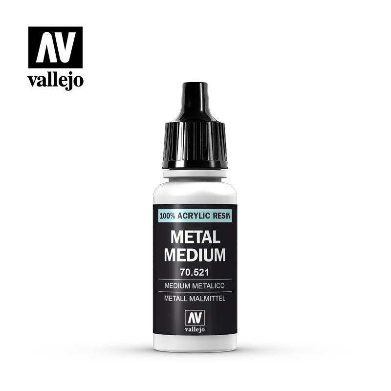 Vallejo 70.521 Auxillaries - Metal Medium 17ml Bottle