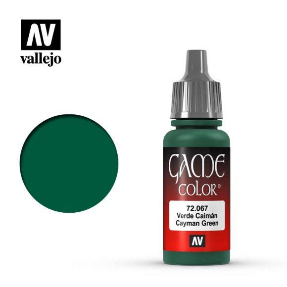 Vallejo 72.067 Game Colour - Cayman Green 17ml Bottle