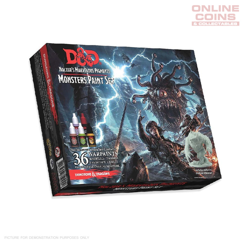D&D Nolzurs Marvelous Pigments Monster Paint Set