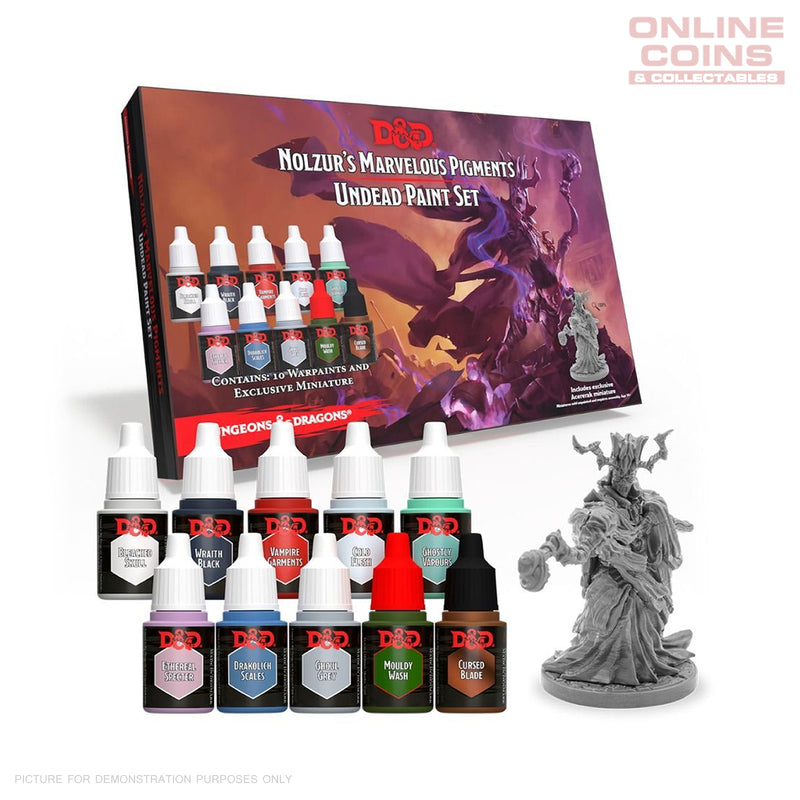 D&D Nolzurs Marvelous Pigments Undead Paint Set