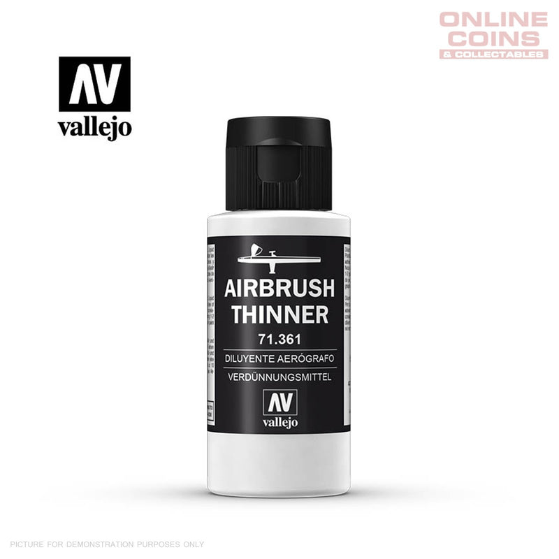 Vallejo Airbrush Thinner 60 ml Bottle