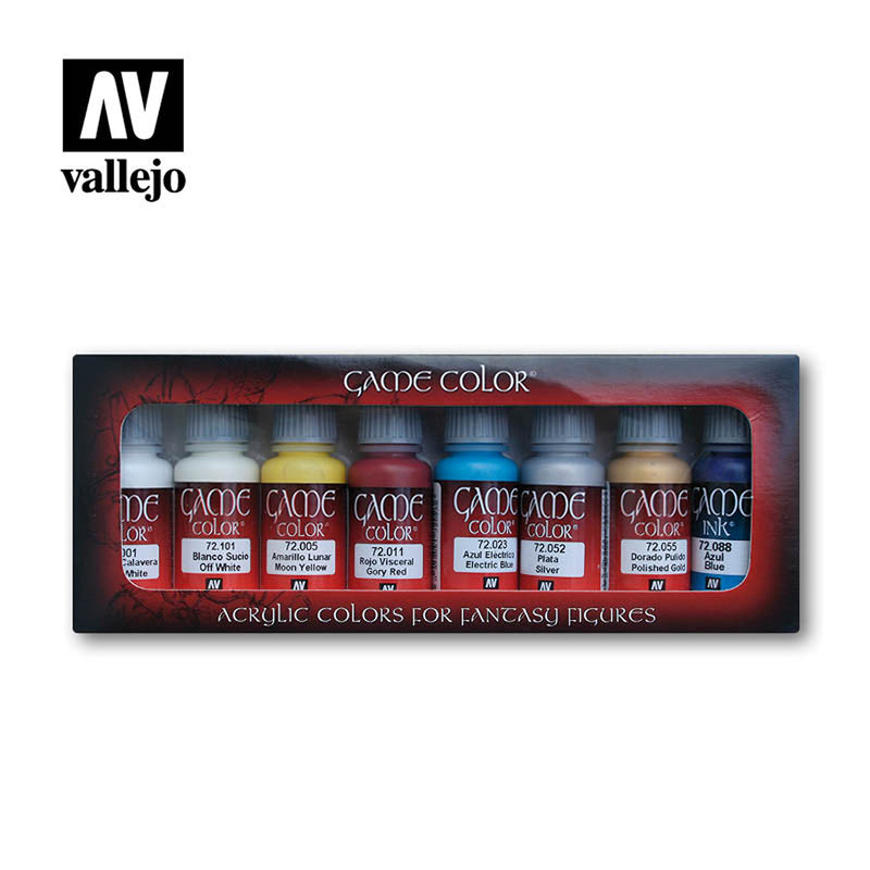Vallejo AV72300 Game Colour Game Elves 8 Colour Model Paint Set