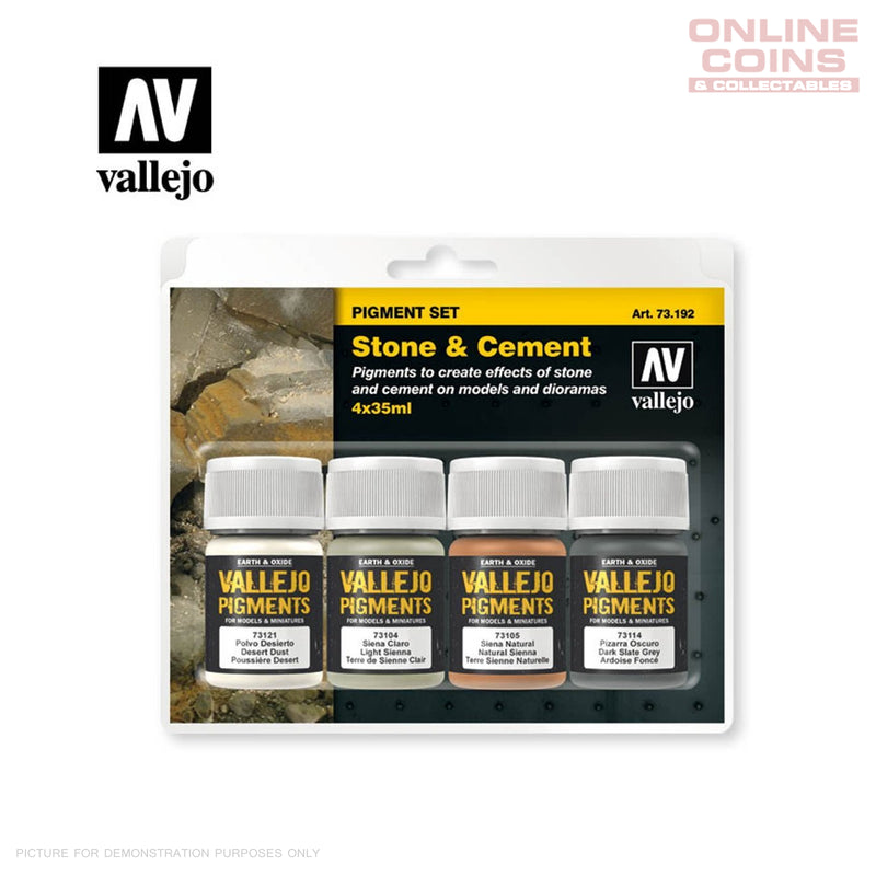 Vallejo Pigments - Stone & Cement