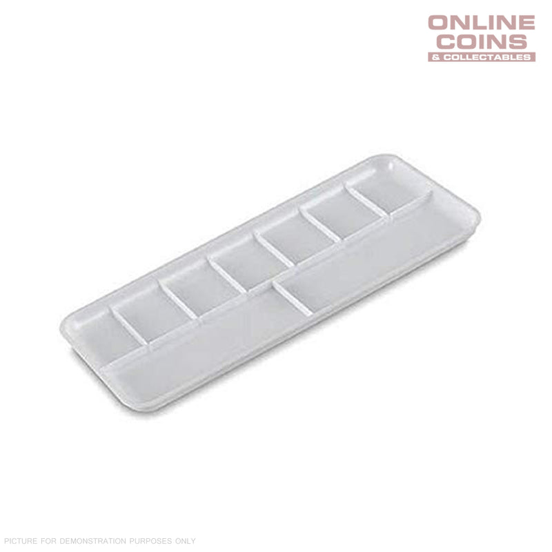 Vallejo AVHS121 Rectangular Palette 18 x 8cm - Plastic palette for mixing colors