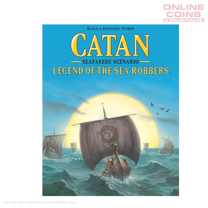 Klaus Teuber's Catan Legend of the Sea Robbers