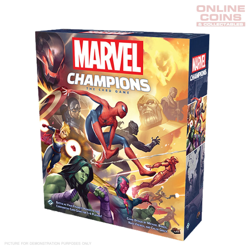 Marvel Champions The Card Game Core Set - Fantasy Flight Games