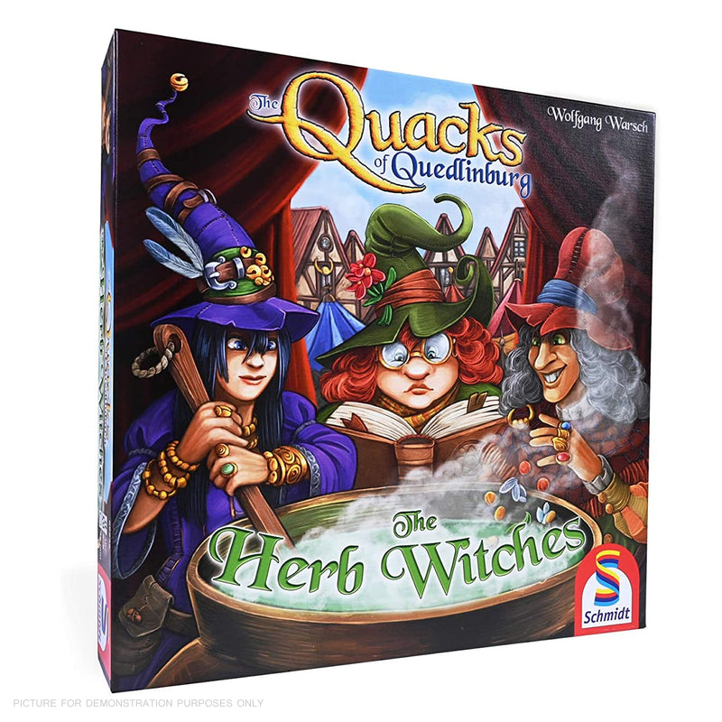 Quacks of Quedlinburg - Herb Witch Expansion Board Game