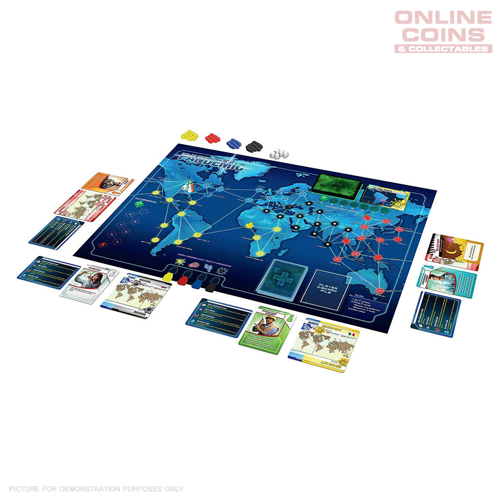 Z-Man Games Pandemic 2013 Edition Board Game