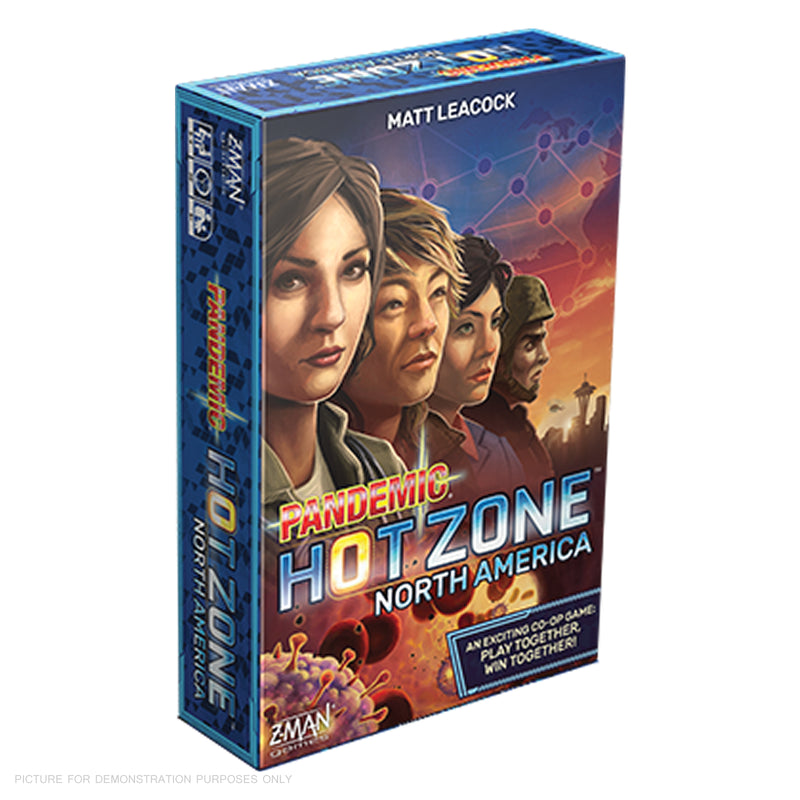 Z-Man Games Pandemic: HOTZONE - NORTH AMERICA