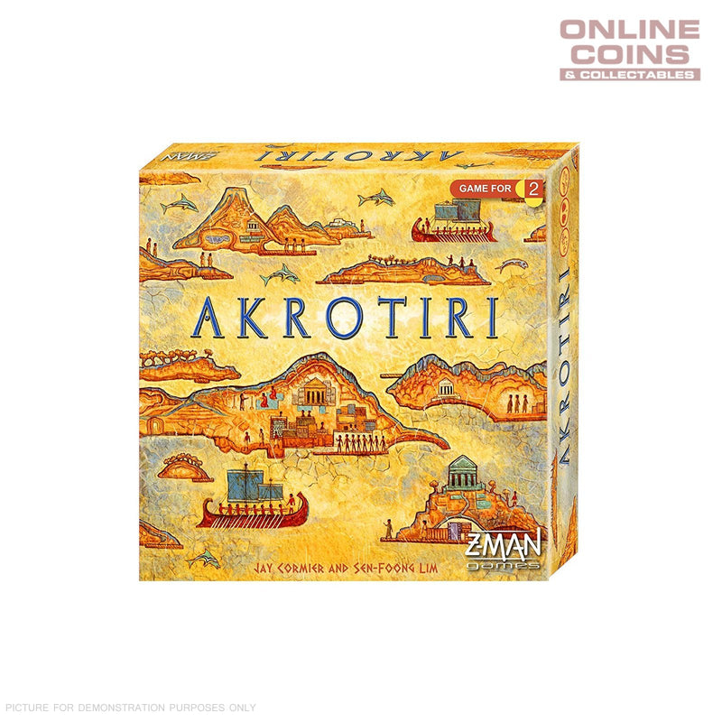 Akrotiri Revised Edition - Two Player Board Game Z-Man Games