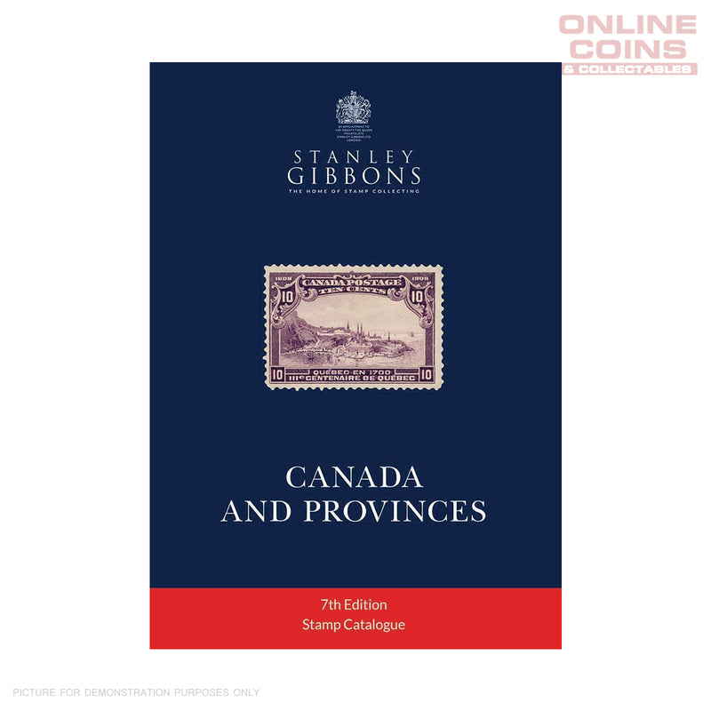 Stanley Gibbons - Canada & Provinces Stamp Catalogue 7th Edition 2020