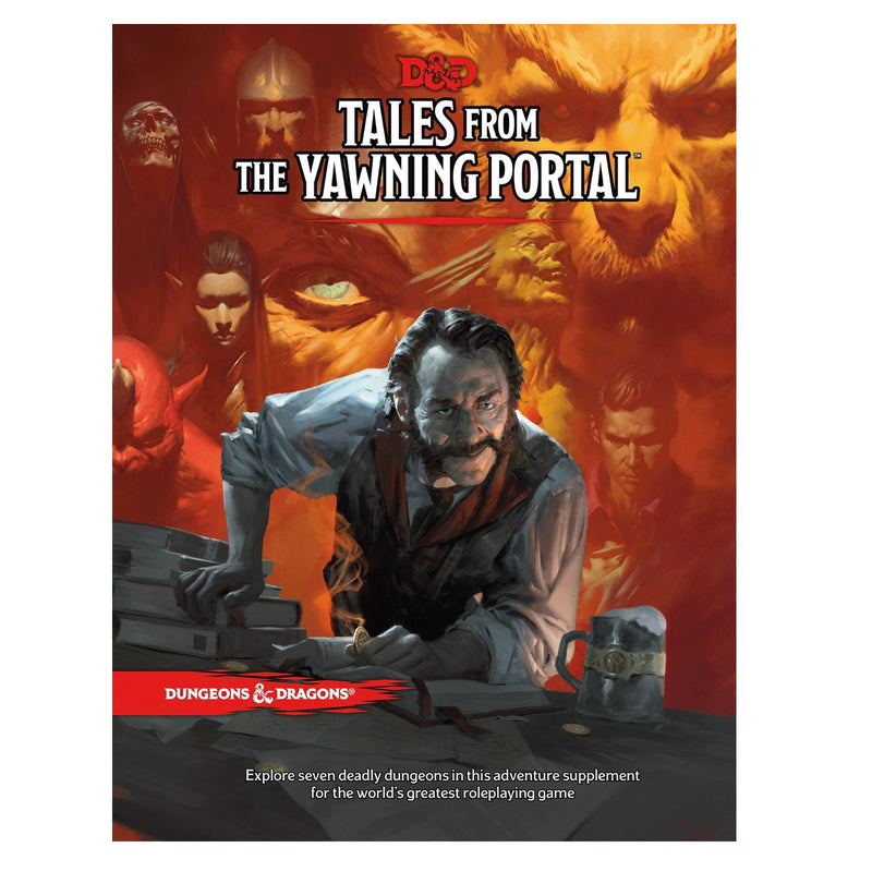 D&D Tales from the Yawning Portal - Hard Cover Book