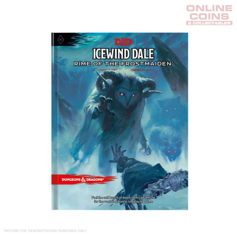 D&D ICEWIND DALE: RIME OF THE FROSTMAIDEN - REGULAR COVER HARDCOVER BOOK