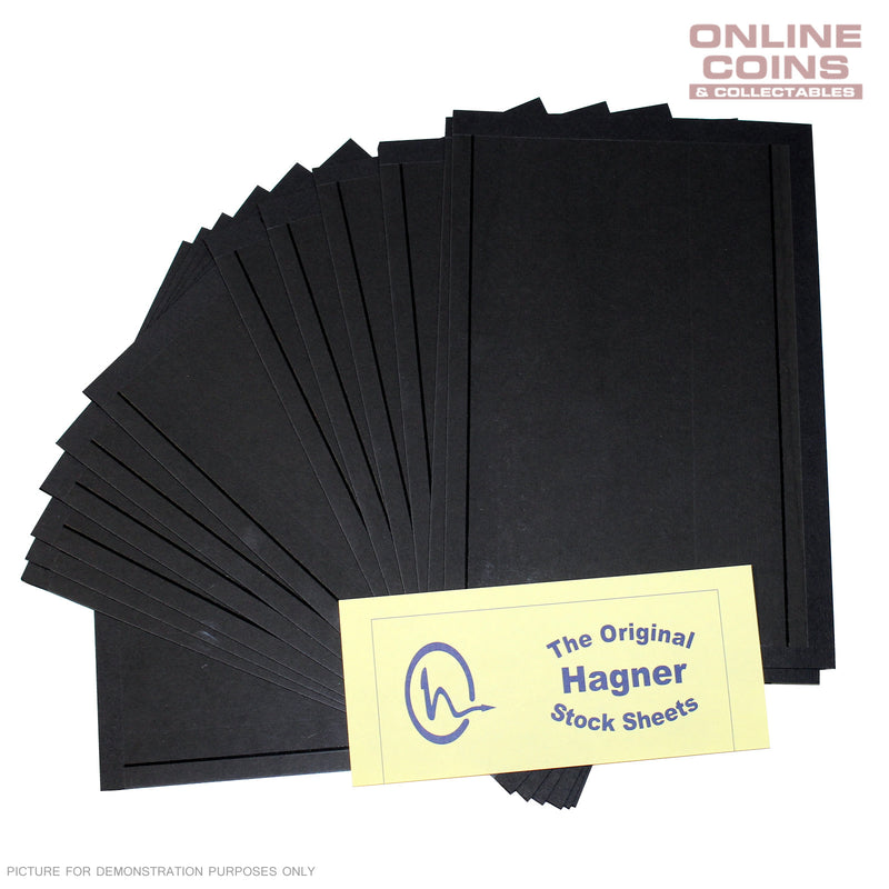 Hagner 1 Pocket Single Sided Half Sheet Full Pack of 100