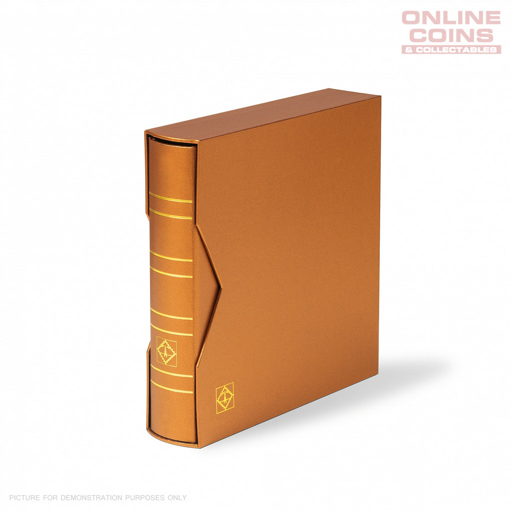 LIGHTHOUSE RINGBINDER NUMIS METALLIC EDITION WITH SLIPCASE - BRONZE