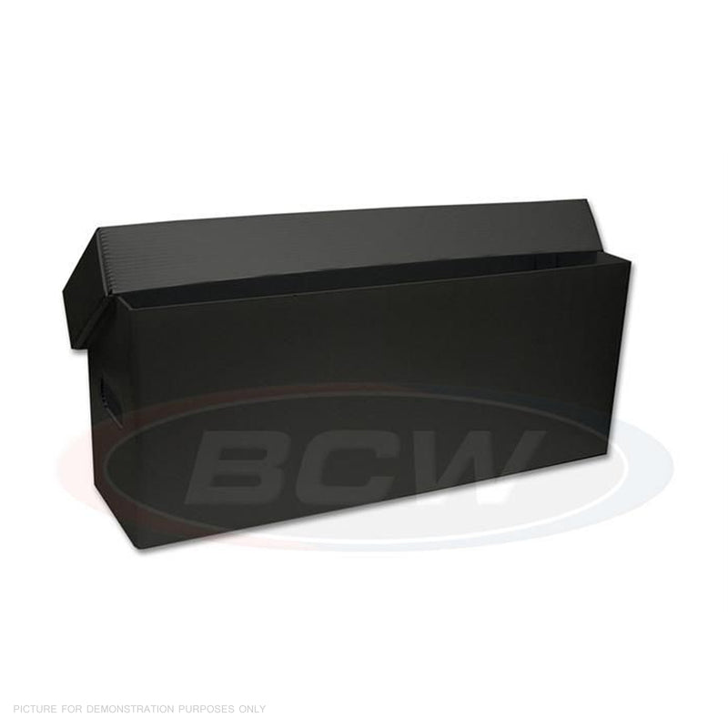 BCW Plastic Long Box - Black