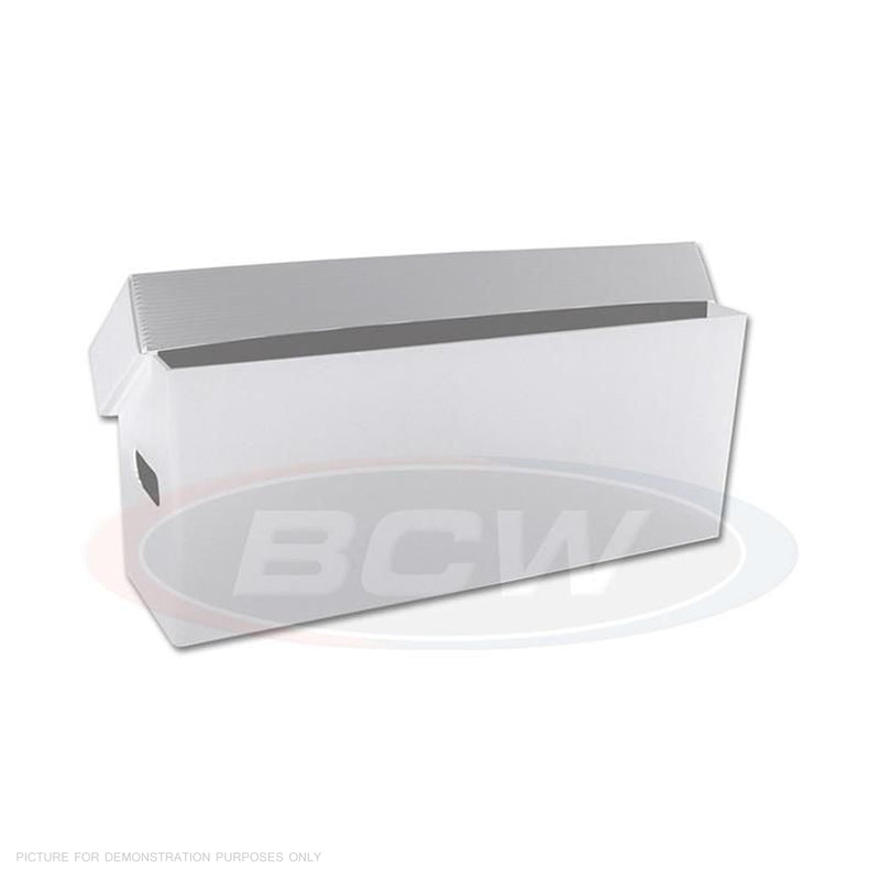 BCW Plastic Long Box - White