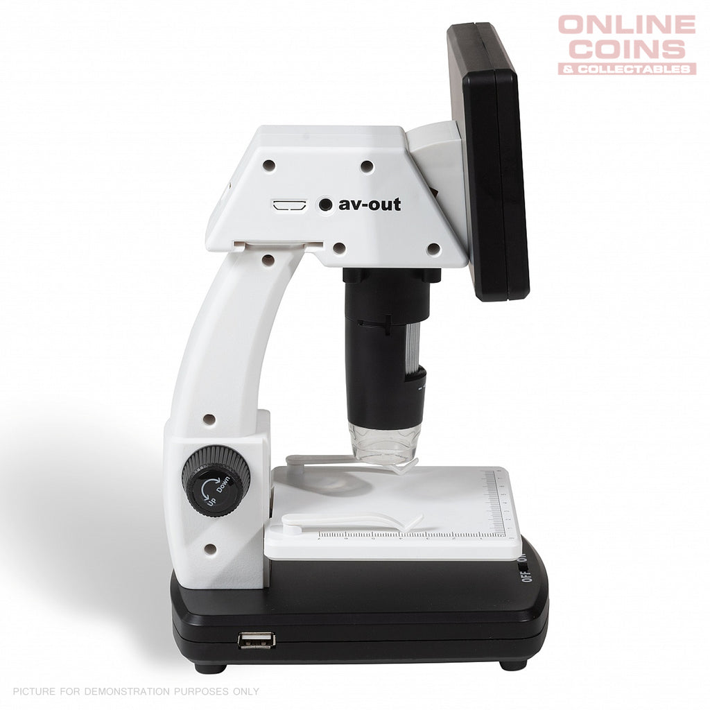 Lighthouse DM5 LCD Digital Microscope - 20x to 200x Magnification