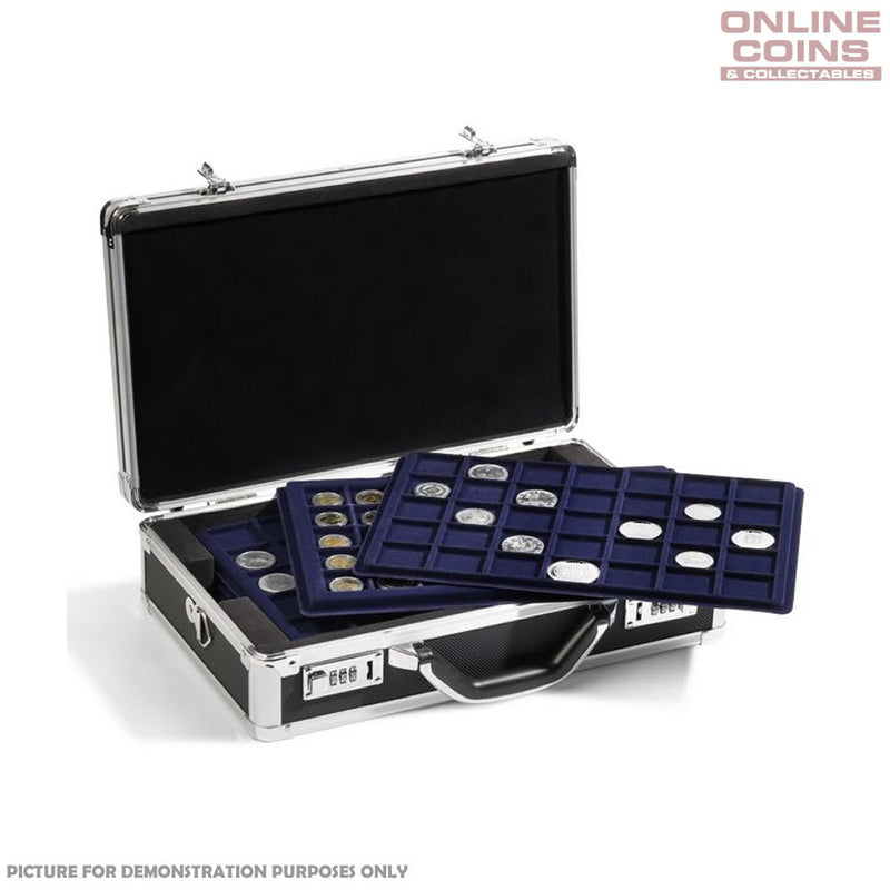 Lighthouse Aluminium CARGO L6 Pro Case Including 6 Coin Trays for 198 Coins