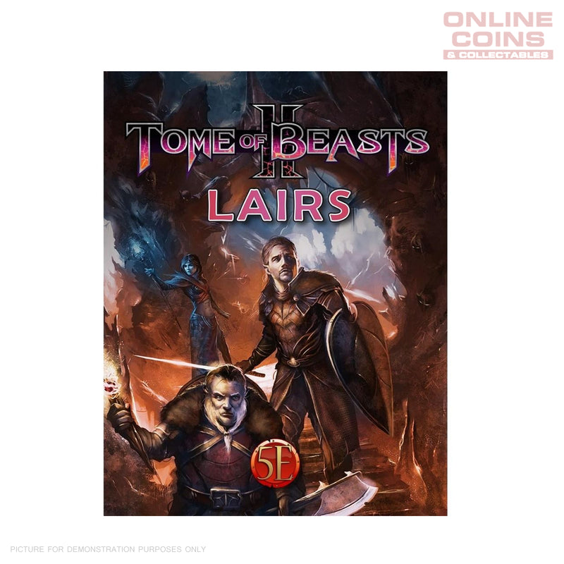 Kobold Press - Tome of Beasts 2 Lairs for 5th Edition