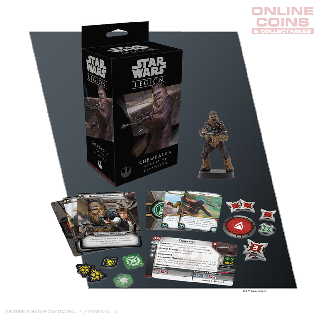 Star Wars Legion Chewbacca Operative Expansion