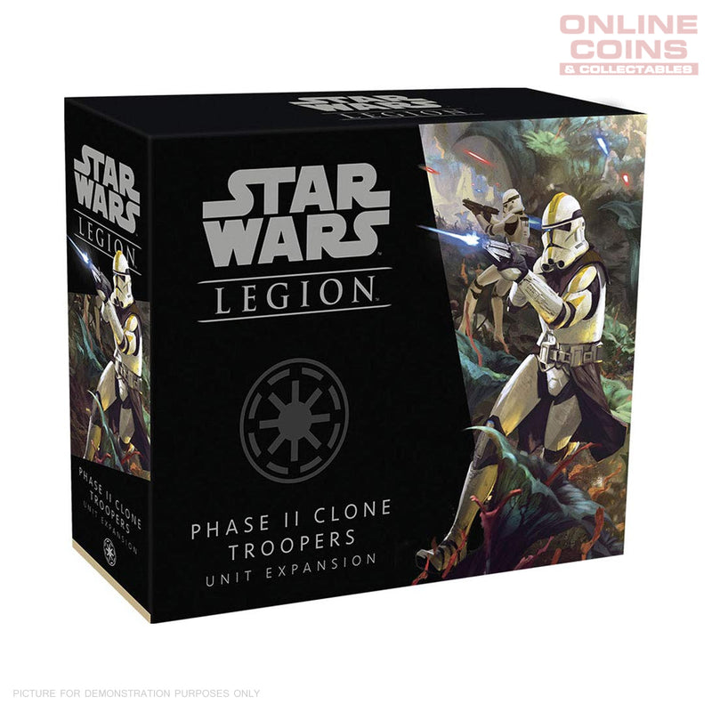 Star Wars Legion Phase II Clone Troopers
