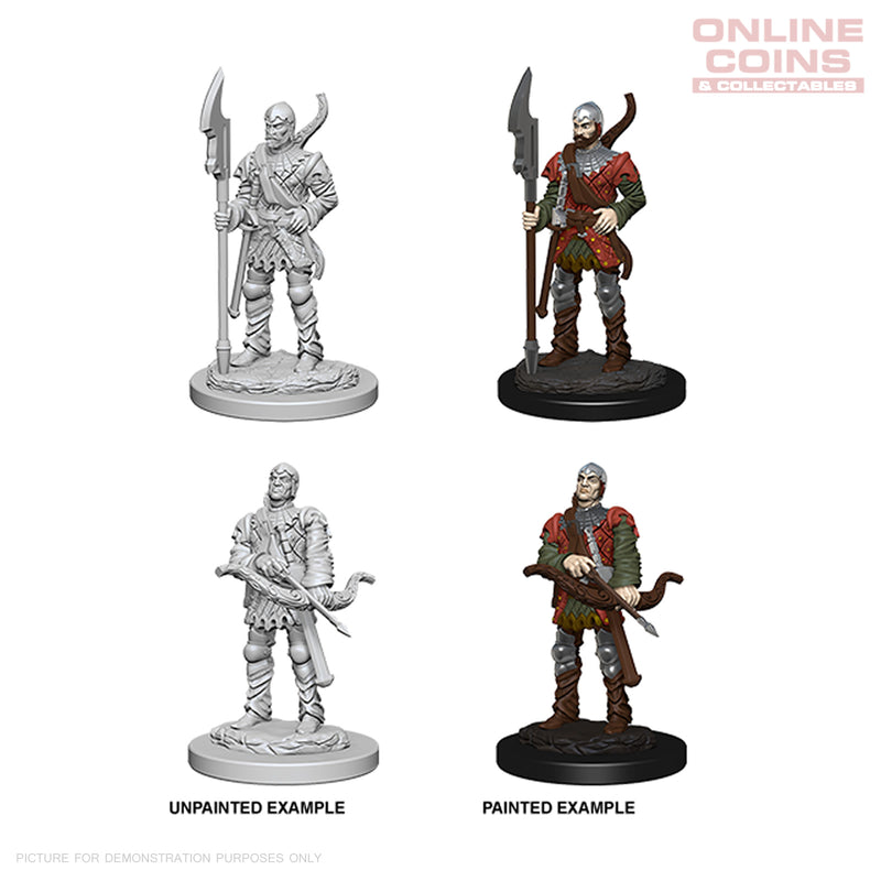 Pathfinder Deep Cuts Unpainted Miniatures Town Guards - WizKids